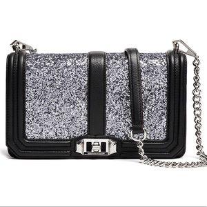 Rebecca Minkoff Glitter Lover crossbody purse